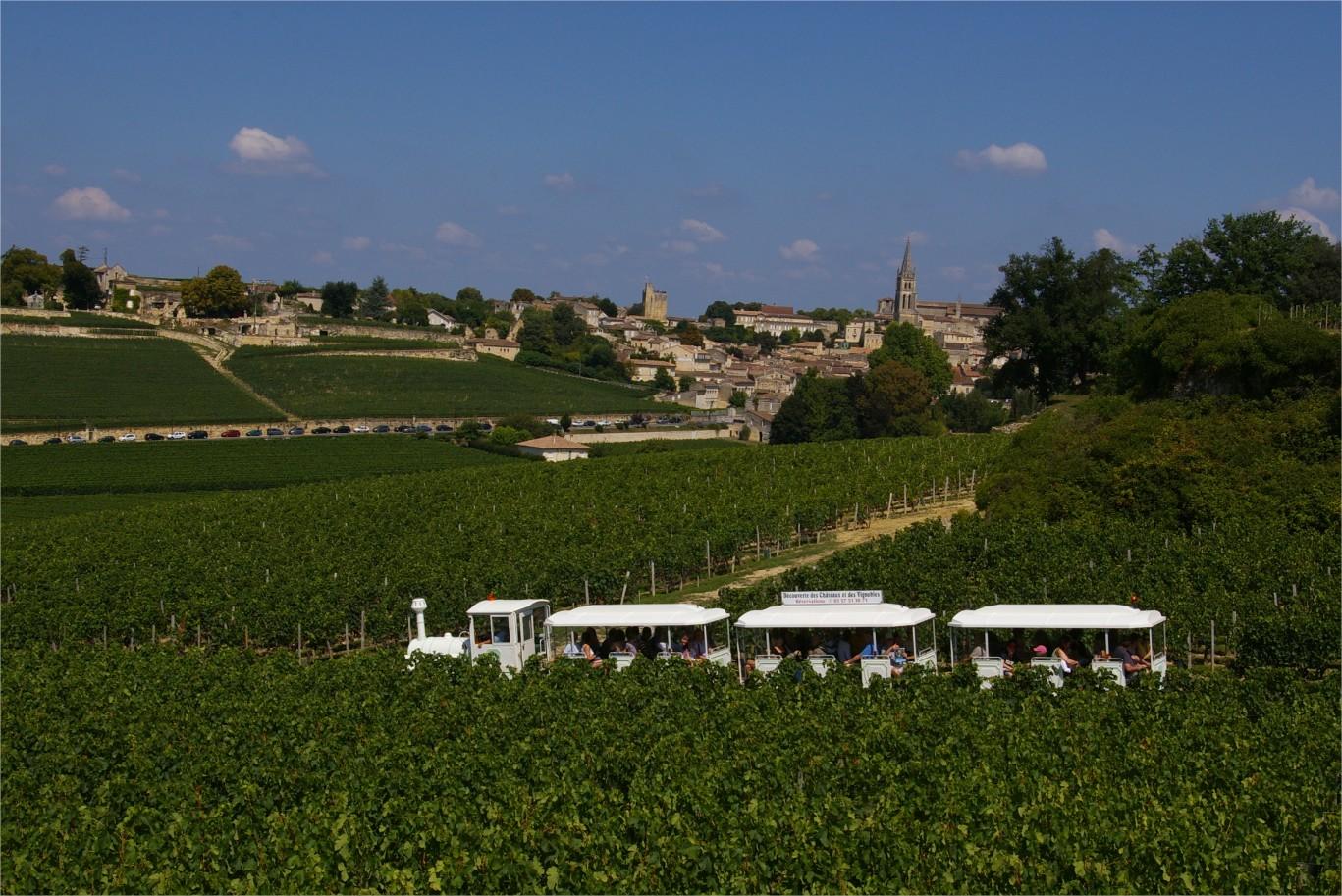 Train des grands vignobles de Saint Emilion