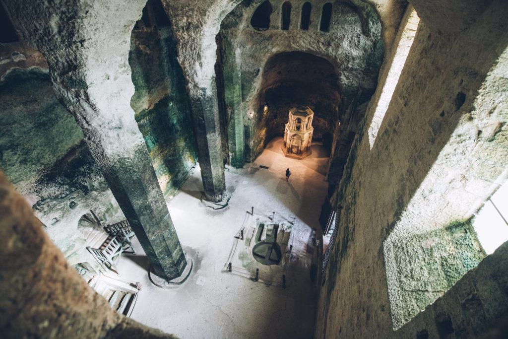 Eglise souterraine d'Aubeterre