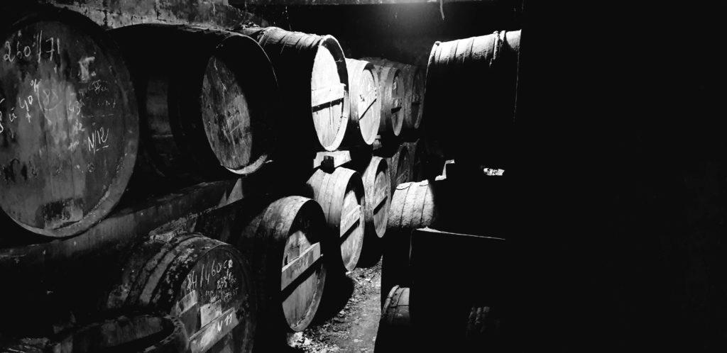 Fûts de chêne Cognac André Petit