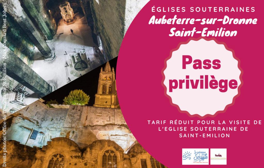 Pass privilège Aubeterre St-Emilion