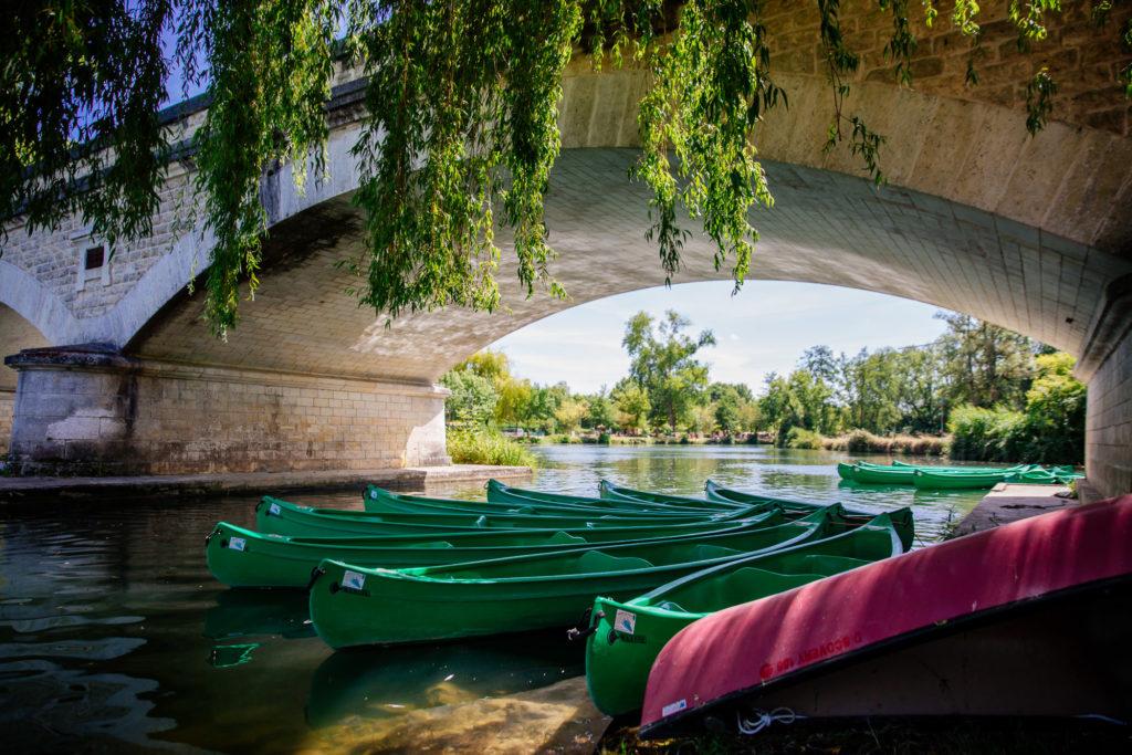 Canoe sur la dronne