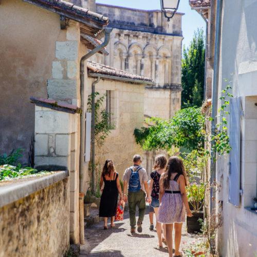 Visite guidée d'Aubeterre