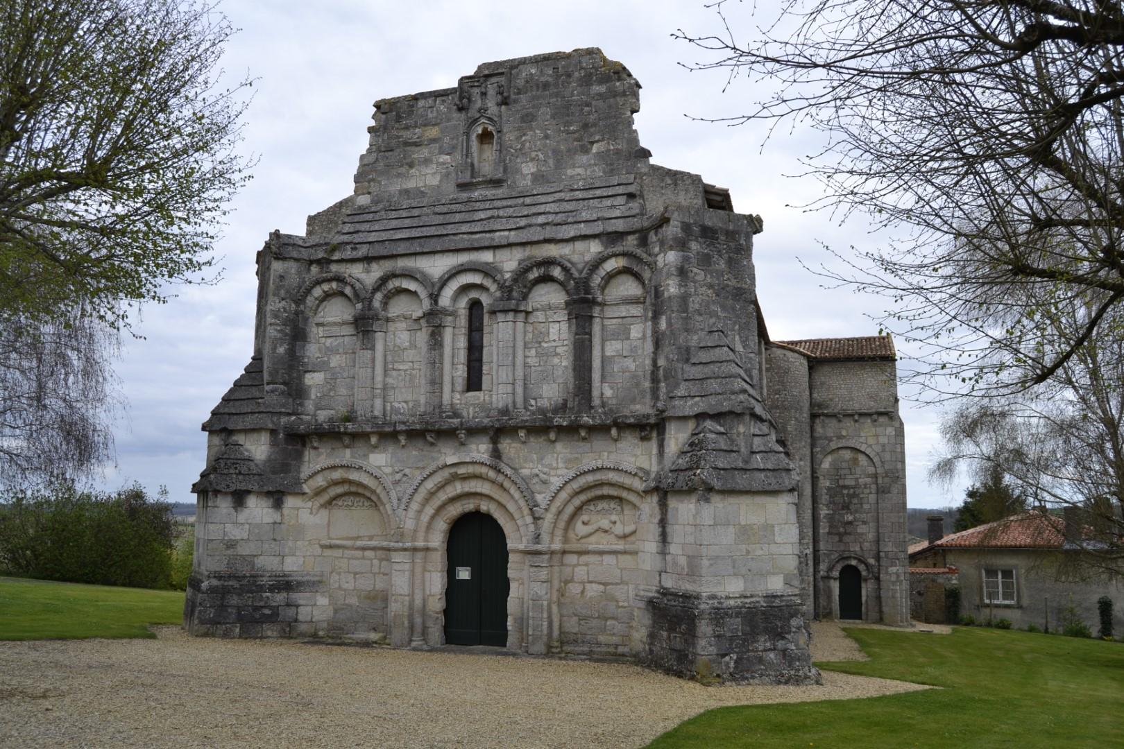 Eglise de Berneuil en Sud Charente