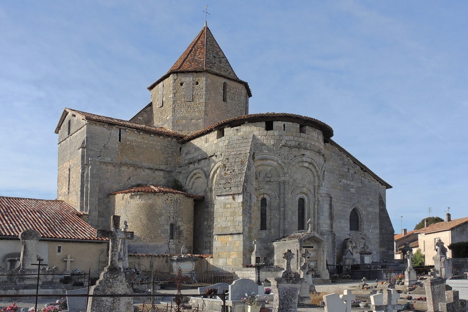 Eglise de Reignac en Sud Charente