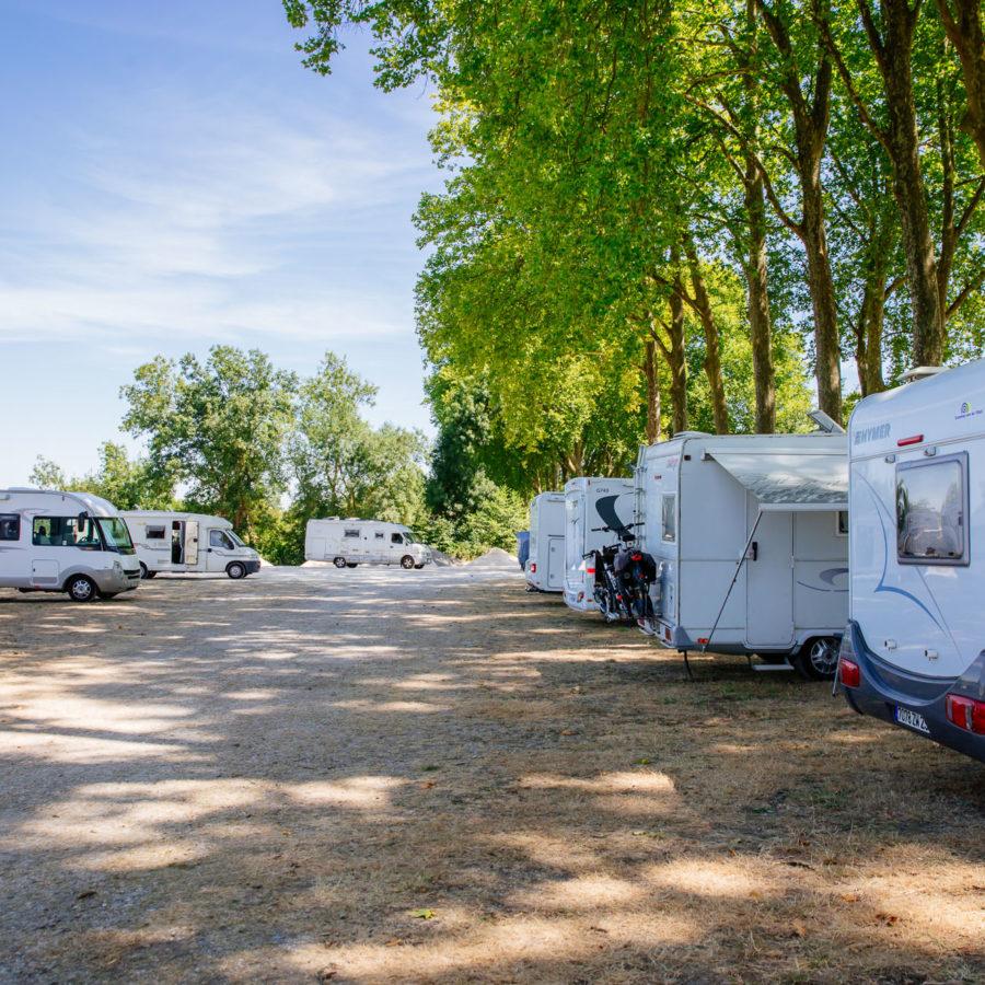 Aire de camping car Aubeterre
