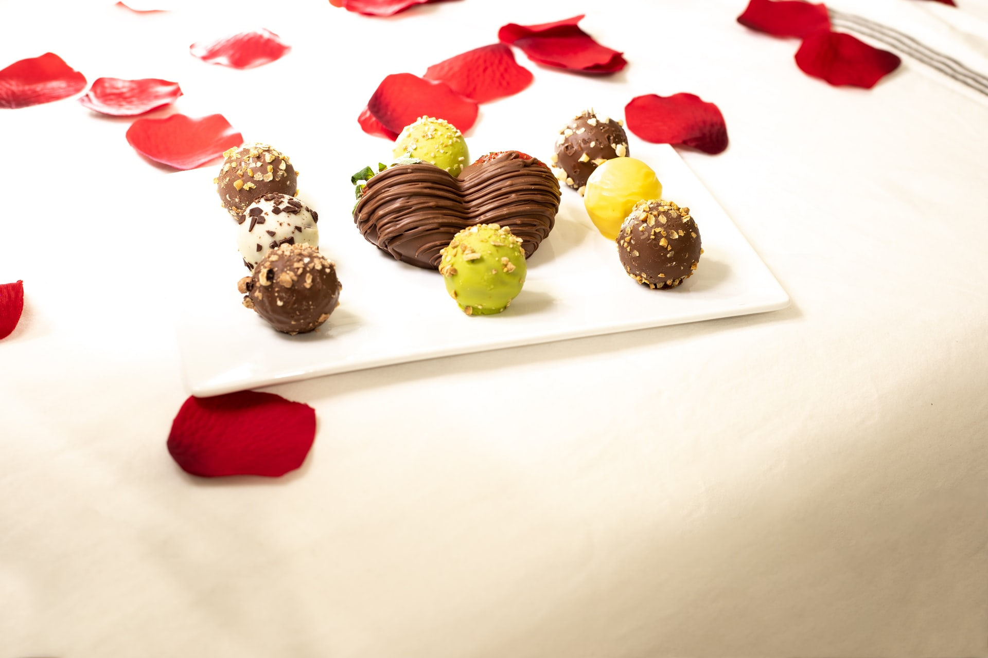 Chocolats st valentin