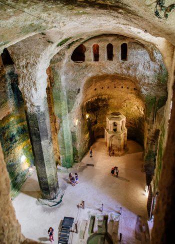 Eglise souterraine Aubeterre