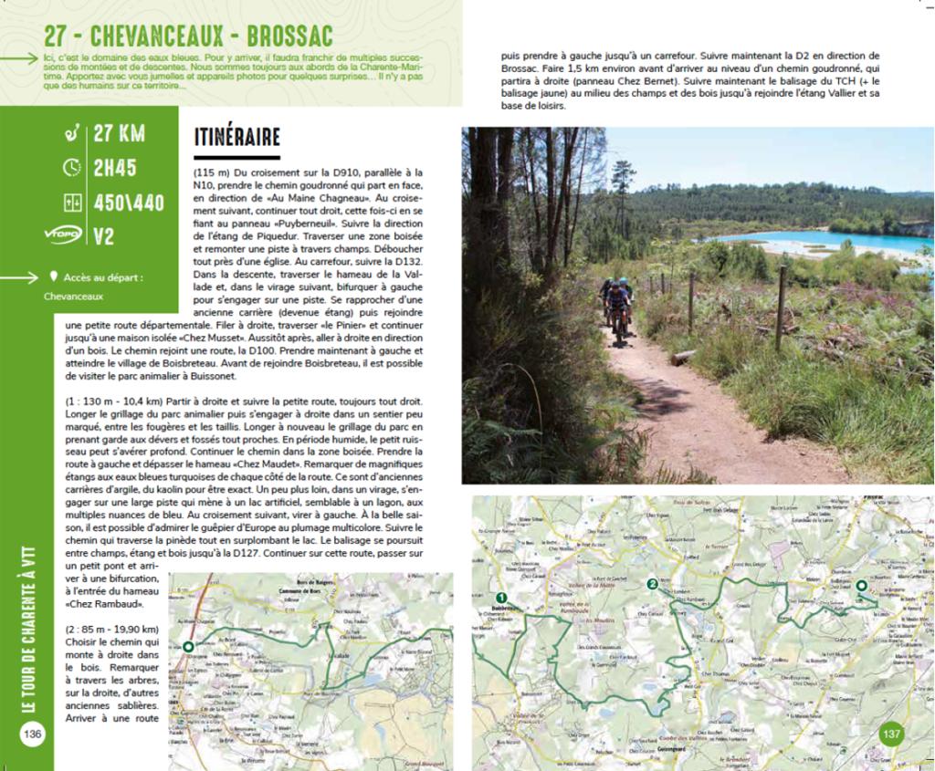 Tour Charente VTT Brossac